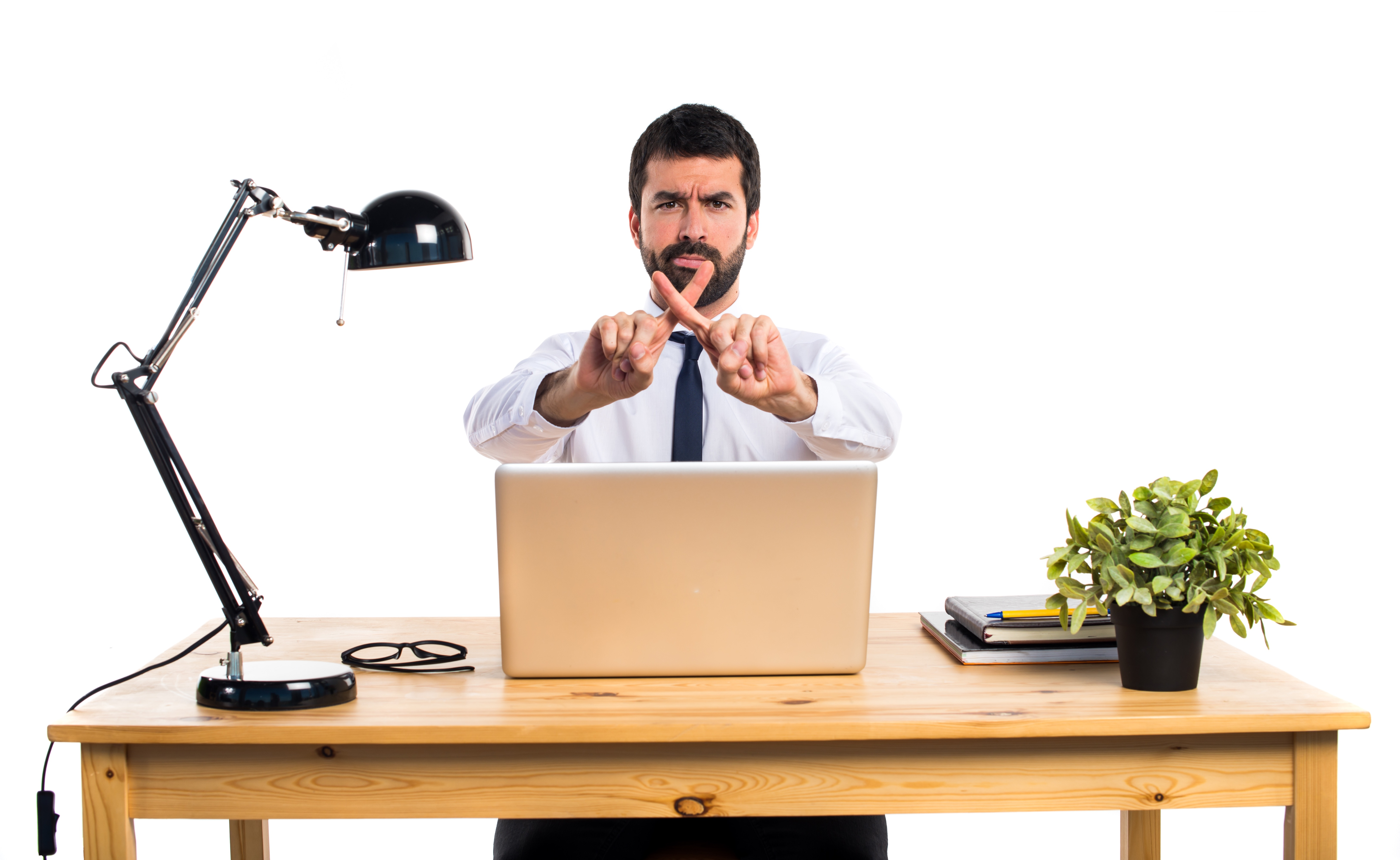 businessman-in-his-office-doing-no-gesture